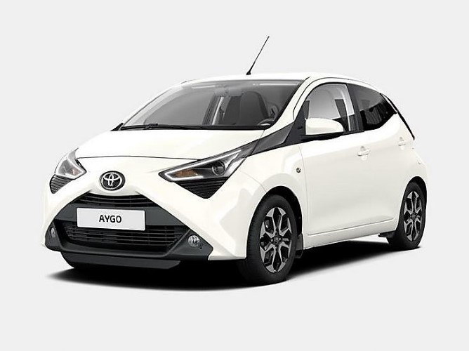 A Economy Automaat - Toyota Aygo Automaat